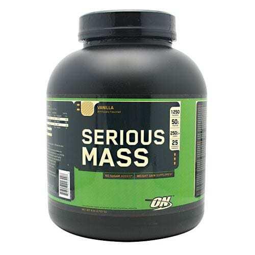 Optimum Nutrition Serious Mass - Vanilla - 6 lbs (2727 g)