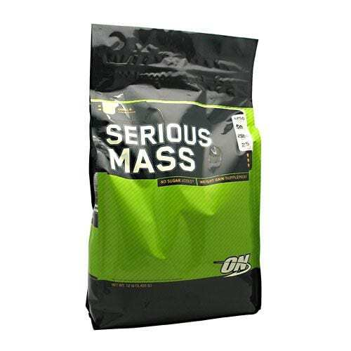 Optimum Nutrition Serious Mass - Vanilla - 12 lbs (5,455 g)