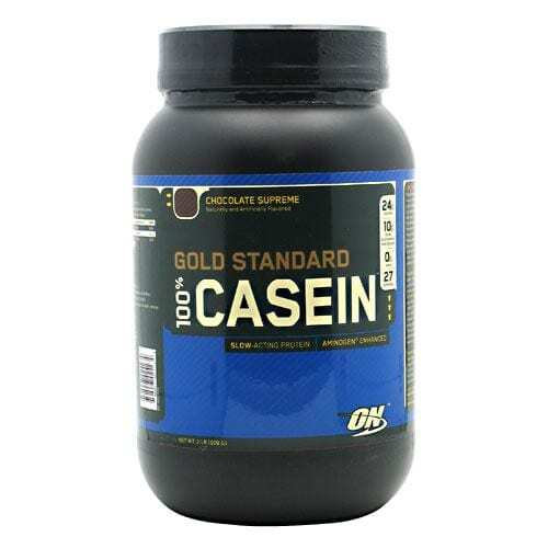 Optimum Nutrition Gold Standard 100% Casein - Chocolate Supreme - 2 lb (909 g)