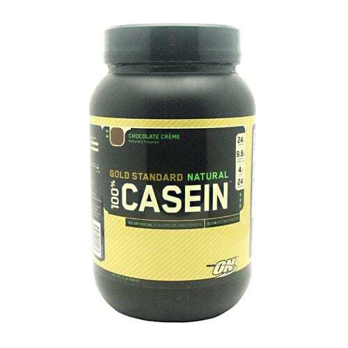 Optimum Nutrition Gold Standard Natural 100% Casein - Chocolate Creme - 2 lbs (908 g)