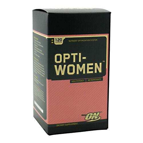 Optimum Nutrition Opti-Women - 120 Capsules