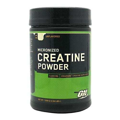Optimum Nutrition Micronized Creatine Powder - Unflavored - 1200 g (2.64 lbs)