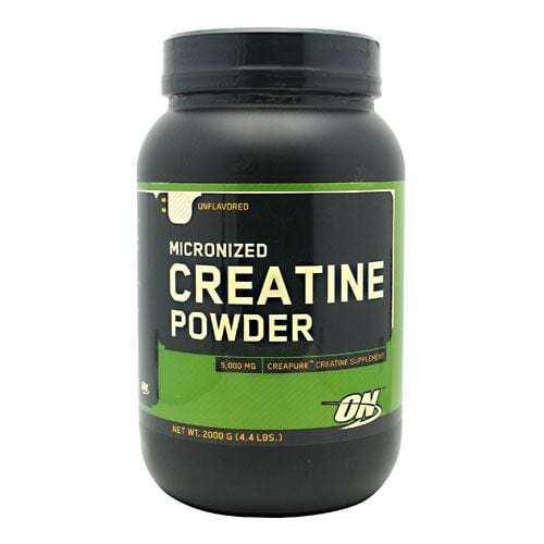 Optimum Nutrition Micronized Creatine Powder - Unflavored - 2000 g (4.4 lbs)