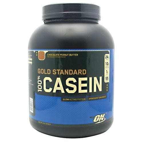 Optimum Nutrition Gold Standard 100% Casein - Chocolate Peanut Butter - 4 lb (1818 g)
