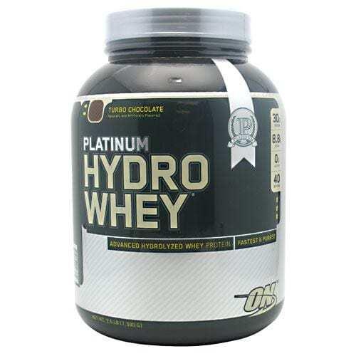Optimum Nutrition Platinum Hydrowhey - Turbo Chocolate - 3.5 lbs (1590 g)