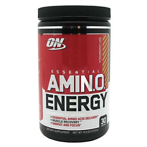 Optimum Nutrition Essential Amino Energy - Strawberry Lime - 30 Servings