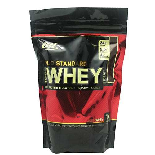 Optimum Nutrition Gold Standard 100% Whey - Double Rich Chocolate - 1 lb