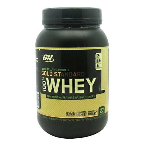 Optimum Nutrition Gold Standard Natural 100% Whey - Vanilla - 1.9 lb