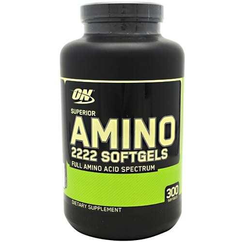 Optimum Nutrition Superior Amino 2222 - 300 Softgels