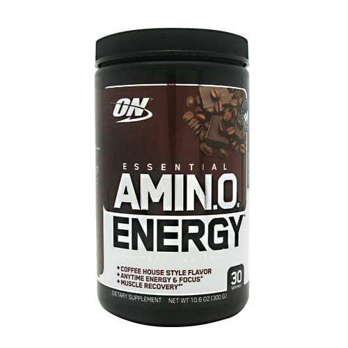 Optimum Nutrition Essential Amino Energy - Iced Mocha Cappuccino - 30 Servings
