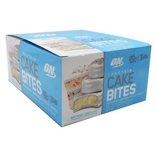 Optimum Nutrition Cake Bites - Birthday Cake - 12 - 2.22 oz Bars