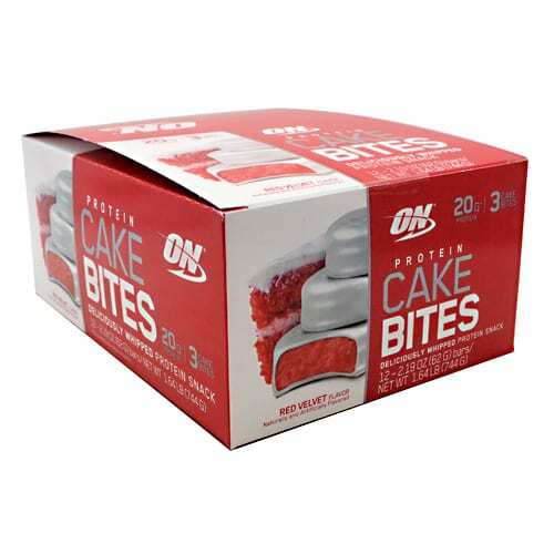Optimum Nutrition Cake Bites - Red Velvet - 12 - 2.19 oz Bars