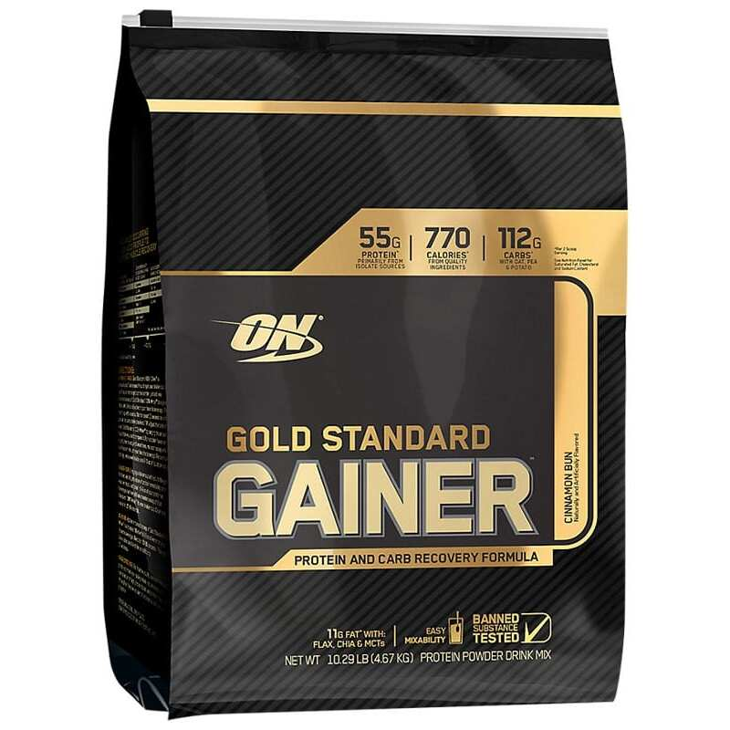 Optimum Nutrition Gold Standard Gainer - Cinnamon - 10 lbs