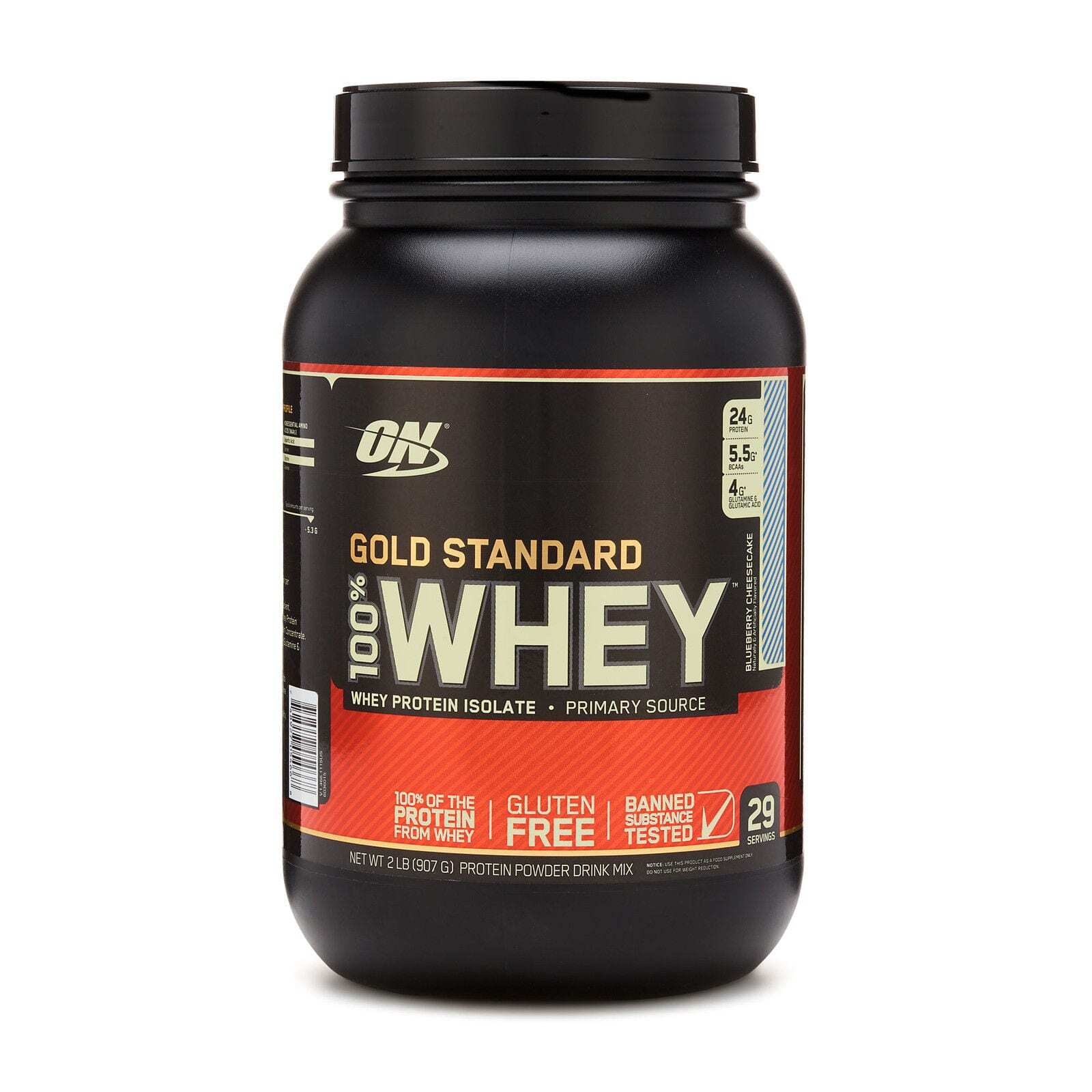 b297be257 Optimum Nutrition Gold Standard 100% Whey - Blueberry Cheesecake - 2 ...