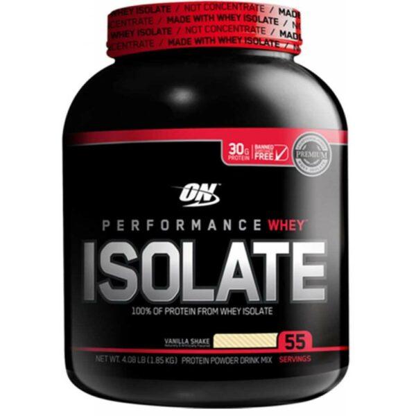 Optimum Nutrition Isolate - Vanilla Softserve - 5.01 lbs