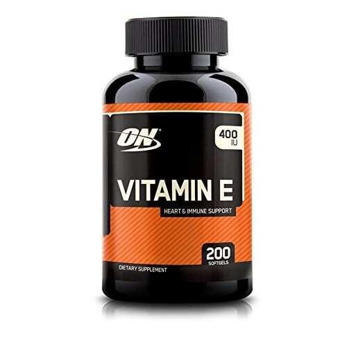 Optimum Nutrition Vitamin E - 200 Softgels