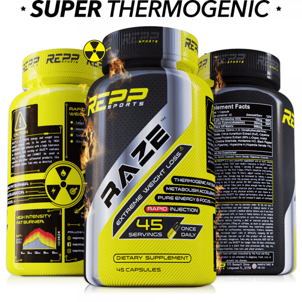 Repp Sports Raze - Extreme Fat Burner - 45 Capsules