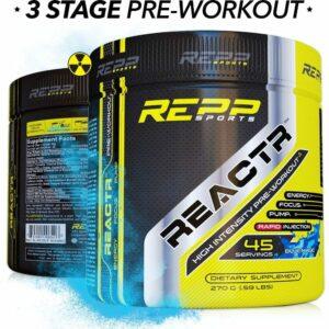 Repp Sports Reactr - Blue Magic - 45 Servings