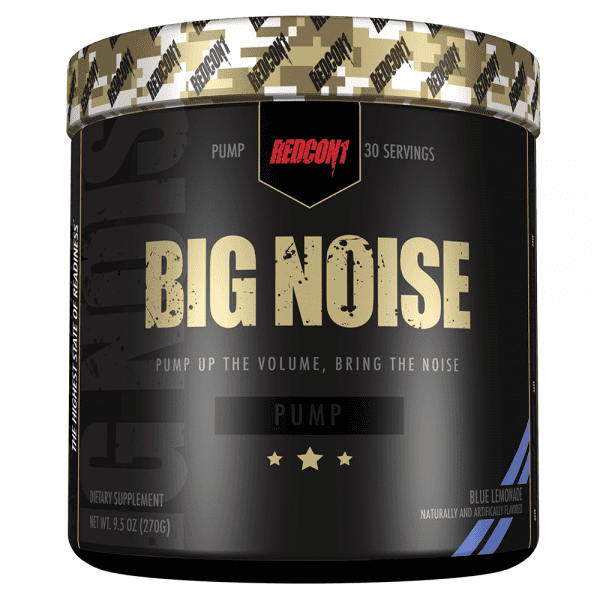 RedCon1 Big Noise - 30 Servings - Blue Lemonade