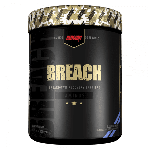 RedCon1 Breach - 30 Servings - Blue Lemonade