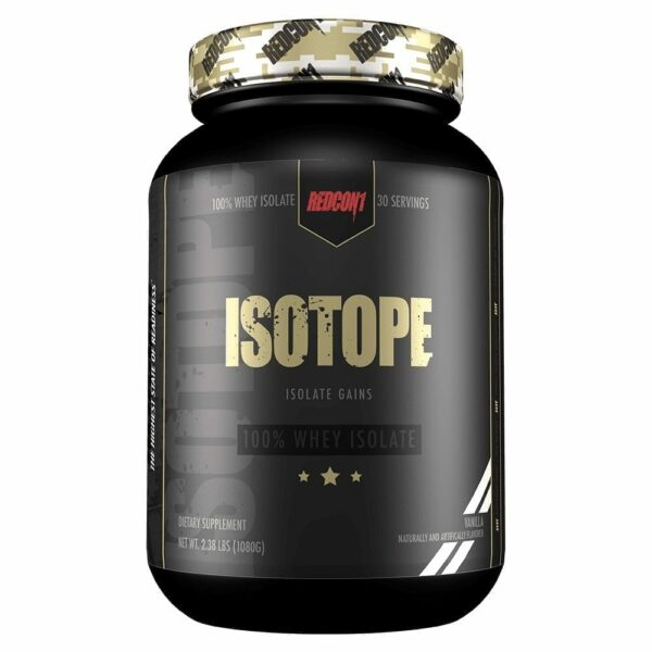 RedCon1 Isotope - 30 Servings - Vanilla