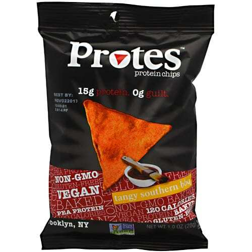Protes Protein Chips - Tangy Southern BBQ - 24 - 1 oz. Bags