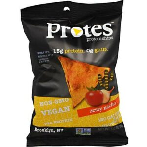 Protes Protein Chips - Zesty Nacho - 24 - 1 oz. Bags