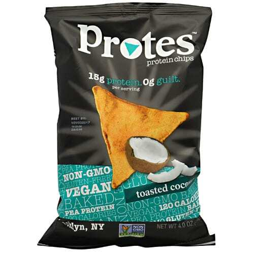 Protes Protein Chips - Toasted Coconut - 12 - 4 oz. Bags