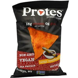 Protes Protein Chips - Tangy Southern BBQ - 12 - 4 oz. Bags