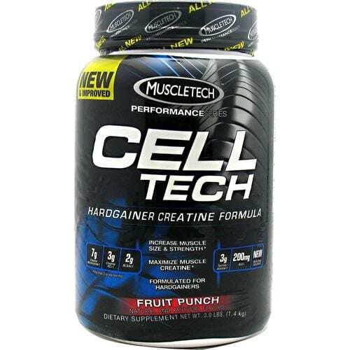 MuscleTech Performance Series Cell-Tech - Fruit Punch - 3.0 lb (1.4 kg)