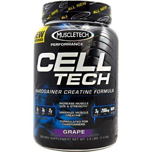 MuscleTech Performance Series Cell-Tech - Grape - 3.0 lb (1.4 kg)
