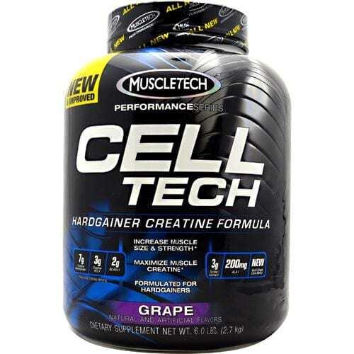 MuscleTech Performance Series Cell-Tech - Grape - 6.0 lbs (2.7 kg)