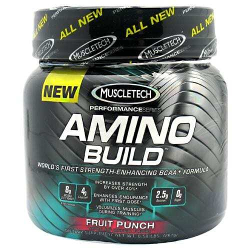 MuscleTech Amino Build - Fruit Punch - 30 servings