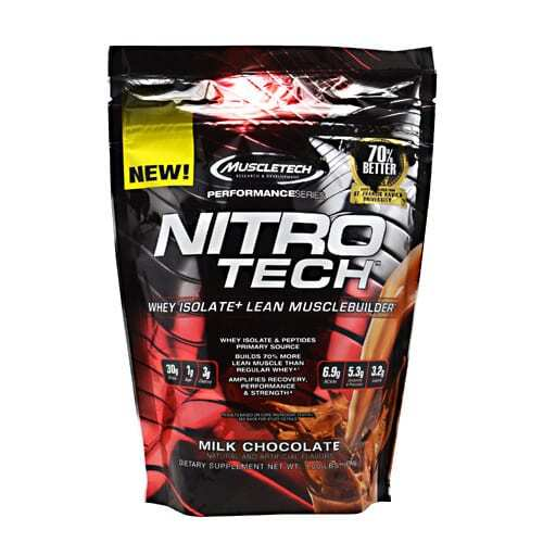 MuscleTech Performance Series Nitro-Tech - Milk Chocolate - 1 lbs (454g)