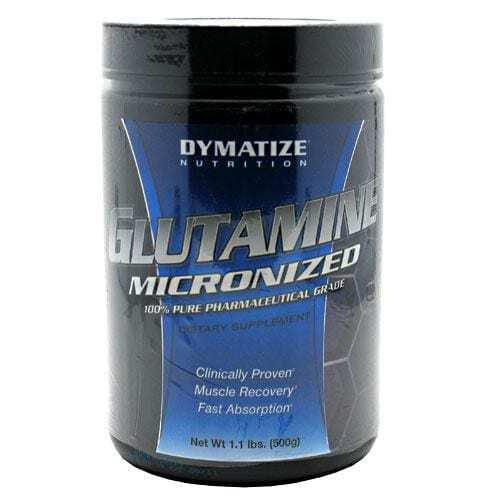 Dymatize Micronized Glutamine - Unflavored - 1.1 lbs (500 g)