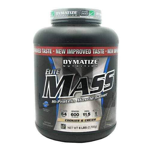 Dymatize Elite Mass - Cookies and Cream - 6 lbs (2700g)