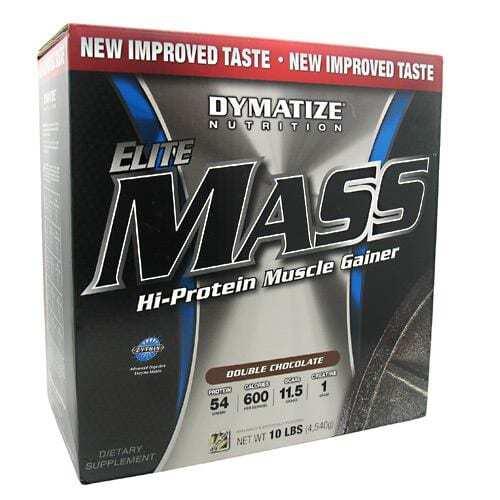 Dymatize Elite Mass - Double Chocolate - 10 lbs (4540g)
