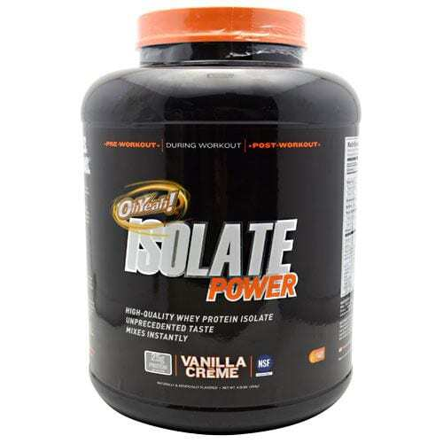 ISS OhYeah! Isolate Power - Vanilla Creme - 4 lbs