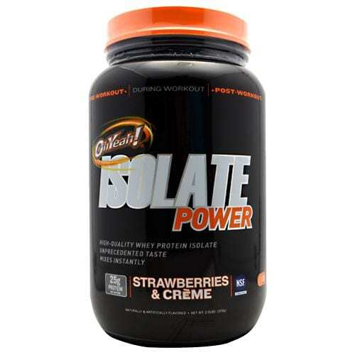 ISS OhYeah! Isolate Power - Strawberries & Creme - 2 lbs
