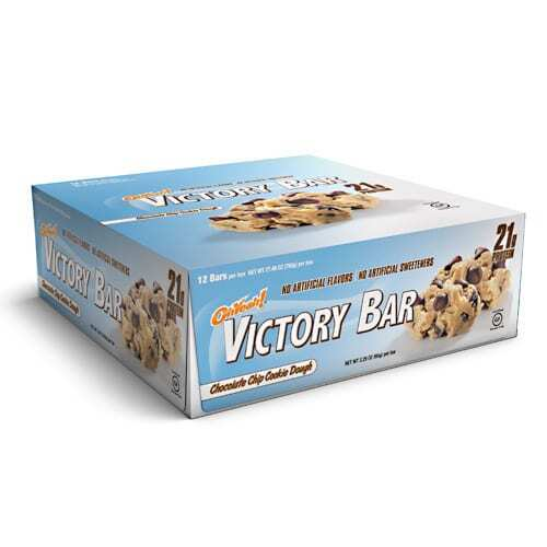 ISS Oh Yeah! Victory - Chocolate Chip Cookie Dough - 12 - 2.29 oz Bars