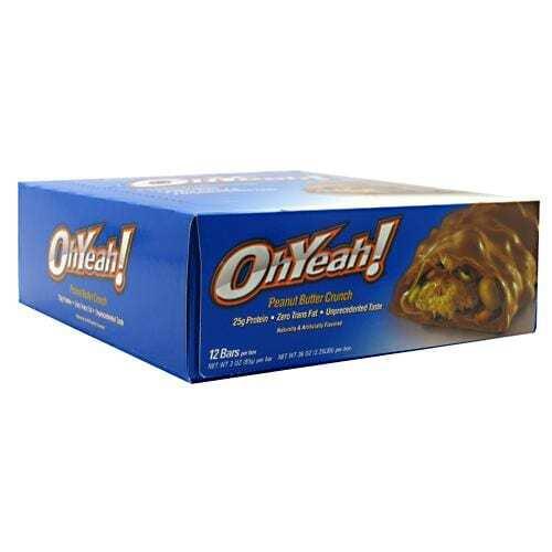 ISS OhYeah! Bar - Peanut Butter Crunch - 12 - 3 oz Bars