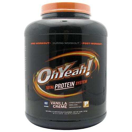 ISS OhYeah! Protein Powder - Vanilla Crème - 4 lbs