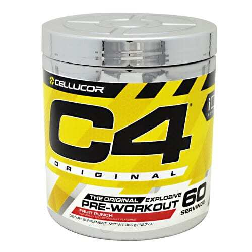 Cellucor iD Series C4 - Fruit Punch - 60 Servings