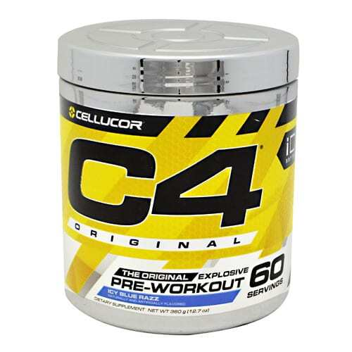 Cellucor iD Series C4 - Icy Blue Razz - 60 Servings
