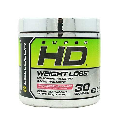 Cellucor Super HD Powder - Strawberry Lemonade - 30 Servings