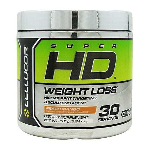 Cellucor Super HD Powder - Peach Mango - 30 Servings