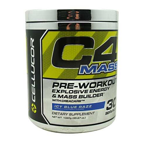Cellucor C4 Mass - Blue Razz - 30 Servings