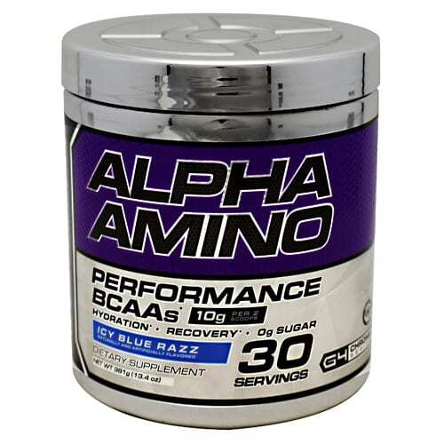 Cellucor Chrome Series Alpha Amino - Icy Blue Razz - 30 servings (13.4oz) 381g