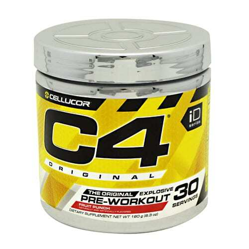 Cellucor iD Series C4 - Fruit Punch - 30 Servings