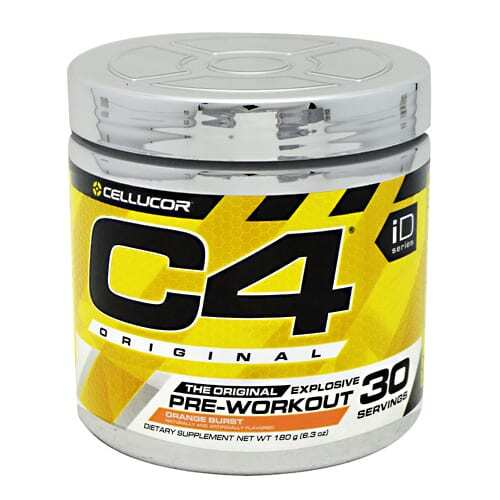 Cellucor iD Series C4 - Orange Burst - 30 Servings